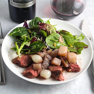 Roasted Duck Breast with Pearl Onion and Cabernet Recipe