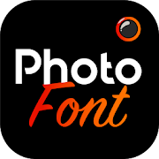 Photofont Text Over Photo