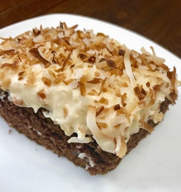 Three Hole Kahlua Coconut Cake By Nor Recipe