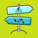 Na kole i pěšky icon