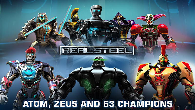Real Steel HD v1.37.1 + Mod