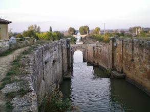 Photo: Etapa 15. Escluses. Canal de Castilla