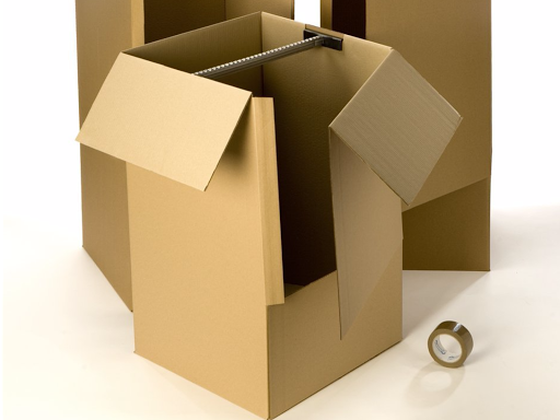 carton penderie pour stockage