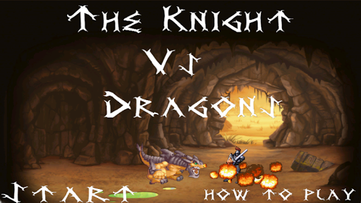 The Knight Vs Dragons