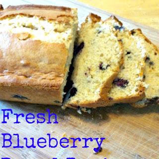 Fresh Blueberry Bread.