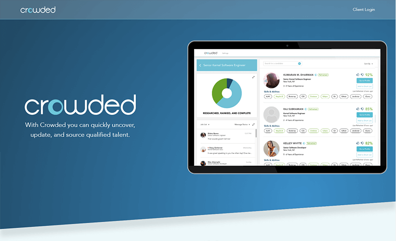 Crowded - Freelancing platform for beginners