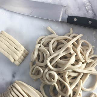 Homemade Udon