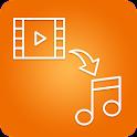 Video Converter to Audio icon