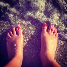 Feet in the Sand by Heather Gallagher - Novices Only Objects & Still Life