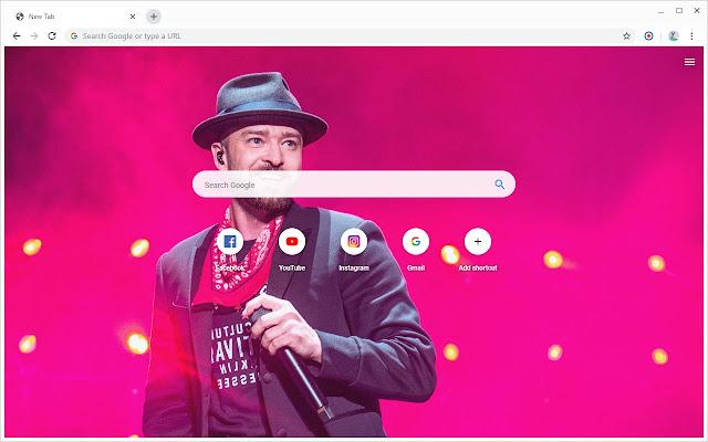 New Tab - Justin Timberlake