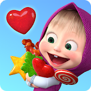 Masha and the Bear Child Games: Making Lollipops