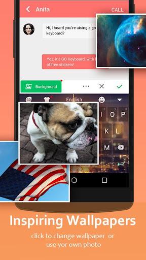 GO Keyboard - Cute Emojis, Themes and GIFs 3.39 screenshots 6