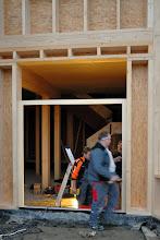 Photo: 20-11-2012 © ervanofoto Ziezo, we kunnen bijna binnen langs de deur.