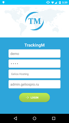 TrackingM - screenshot
