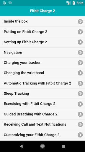Download User Guide for Fitbit Charge 2 on PC & Mac with AppKiwi APK