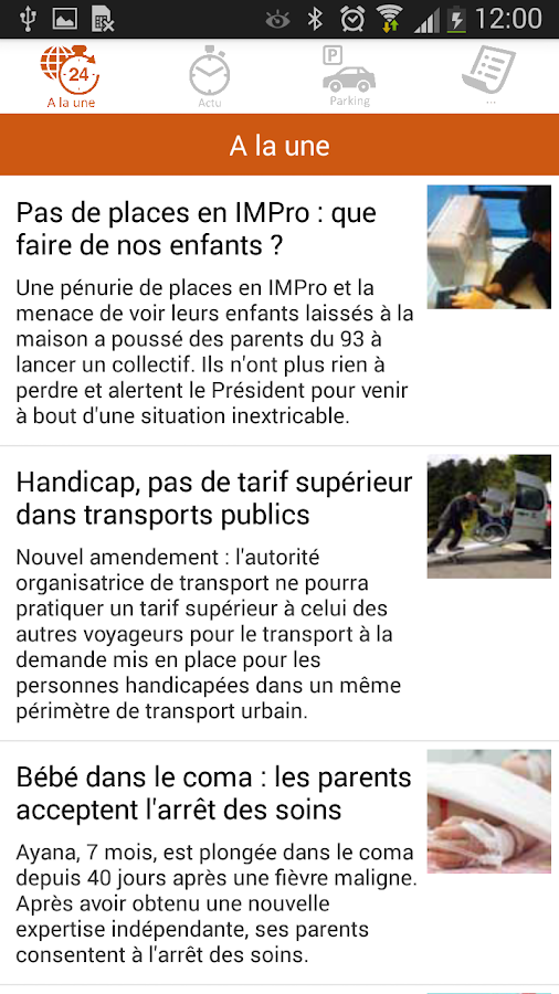 Handicap.fr- screenshot