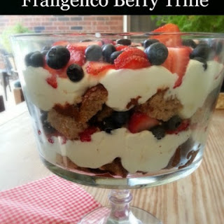 Frangelico Berry Trifle