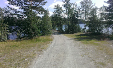 Photo: Дорога между двух озер