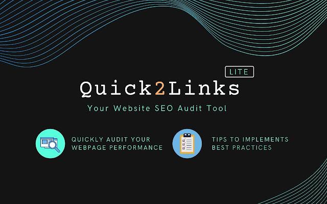 Quick2Link - Website SEO Audit Tool