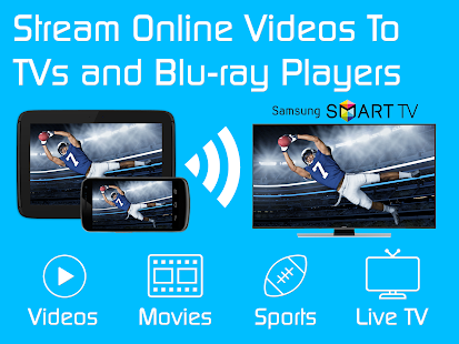 Video & TV Cast | Samsung TV (Stream Movies to TV)