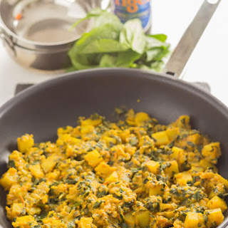 Spinach Curry Turmeric Recipes