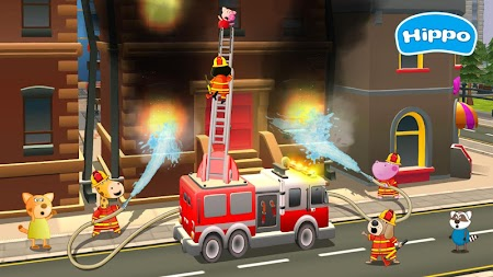 Professions for kids: Driver 3D APK screenshot thumbnail 2