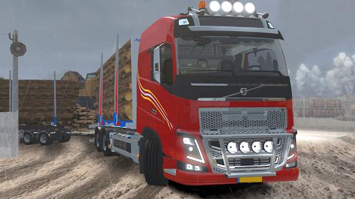 Code Triche Heavy Logging Cargo Truck Transport Simulator APK MOD screenshots 5