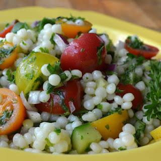 Mediterranean Couscous Salad.
