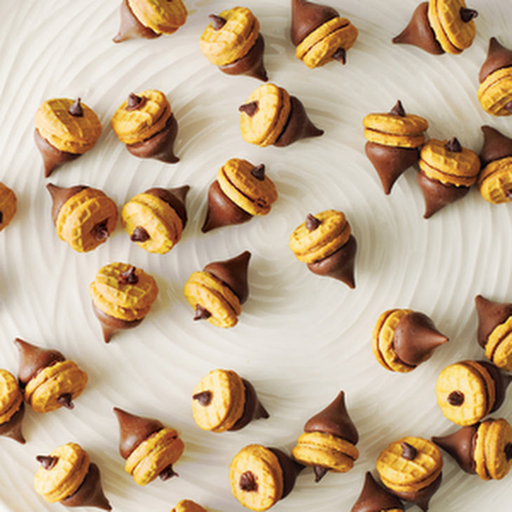 Chocolate-Peanut Butter Acorns Recipe | Yummly