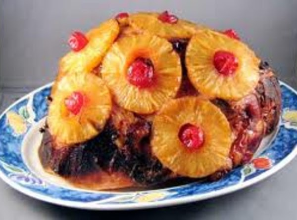 Baked Ham With Pineapple Recipe