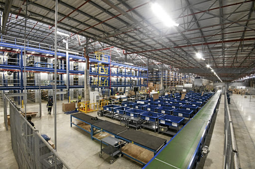 The new BMW Group RDC in Midrand can handle up to 4,000 orders per day through its warehouse. Picture: BMW