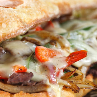 Michael's Famous Philly Cheese Steak Sandwich.