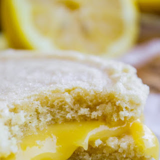 Lemon Curd Sugar Cookie Sandwiches Recipe