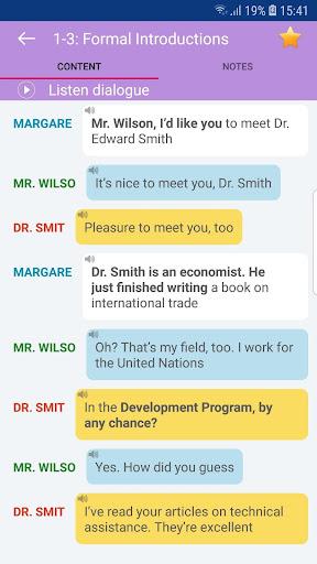 Everyday Conversation English screenshot 2