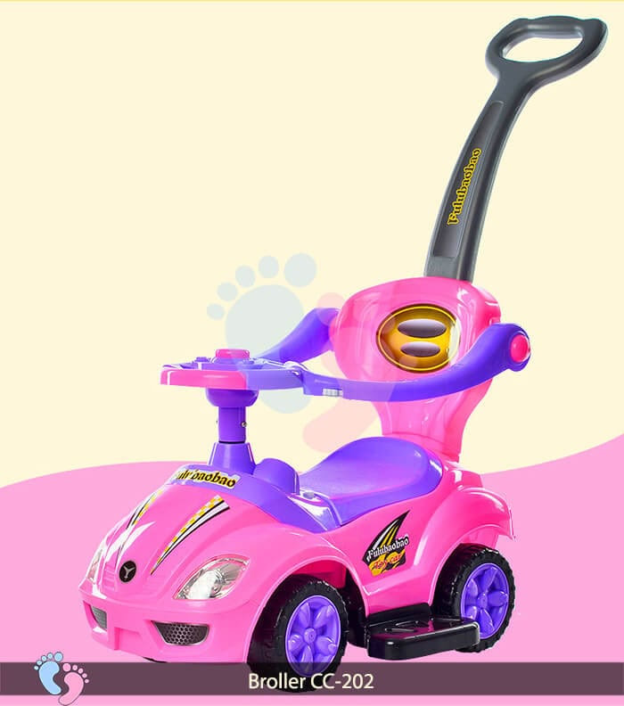 Xe chòi chân trẻ em Broller CC 202 6