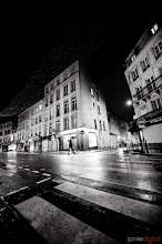 Photo: Paris by Night  I'm here. I'm going to take a nap then get some food then wander the city then meet up for a photowalk then eat then hopefully convince a few photographers to do some night photography then sleep and do it again tomorrow  This picture of a road near my hotel in paris was from the last time I was here 2yrs ago