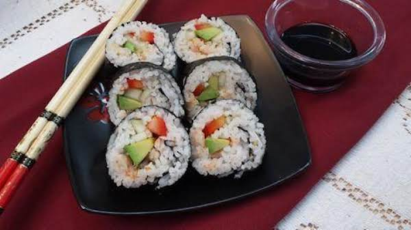 Homemade Sushi Rolls Recipe