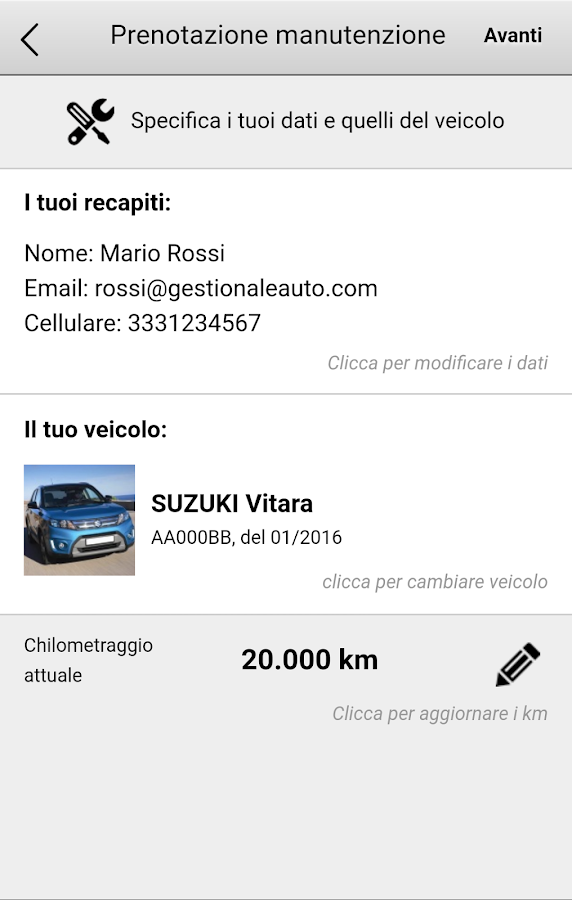 Bettini Automobili- screenshot