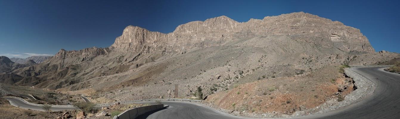 Anstieg zum Jebel Shams