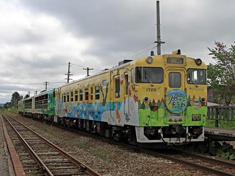 JR北海道 観光列車「風っこそうや」 天塩中川にて 1号車