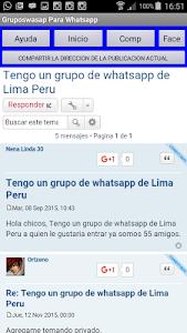 Grupos Wasap para whatsapp screenshot 6