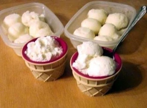 """Lemon Ice Cream """"It came out wonderfully creamy and tasted sooo good.""""..."""