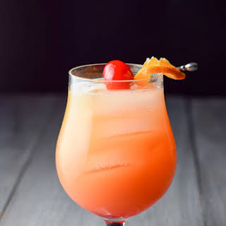 Tantalizing Tequila Sunrise Cocktail.