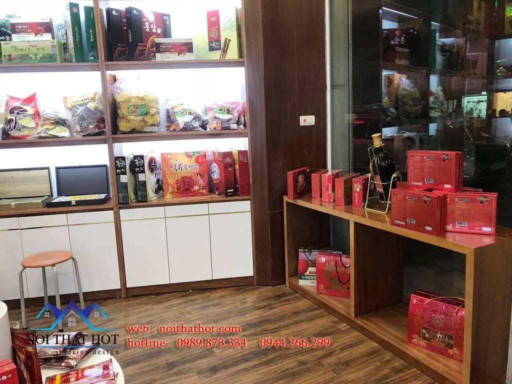 Thiết kế cửa hàng sâm Ginsenplaza.com 6