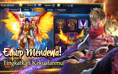 Hack Game Immortal Saga Cho Android