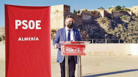 El PSOE quiere hacer la Alcazaba Patrimonio de la Humanidad
