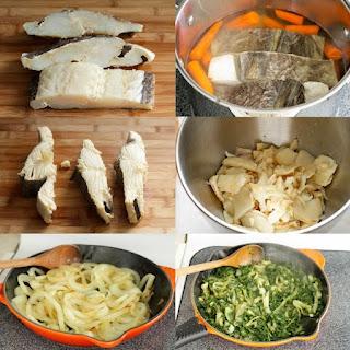 Codfish Pie with Spinach (Empadão de Bacalhau com Espinafres)