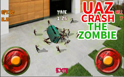 UAZ Crush the Zombie