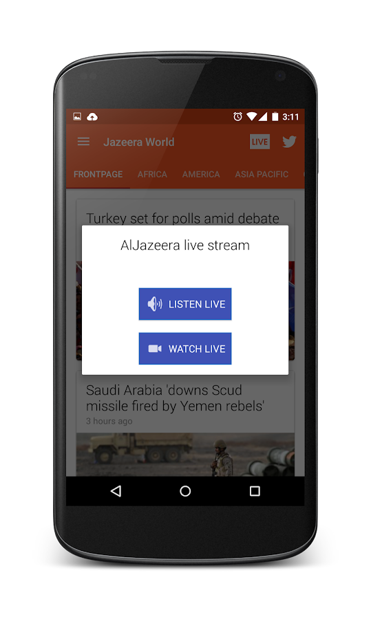 Jazeera World: Al Jazeera app- screenshot