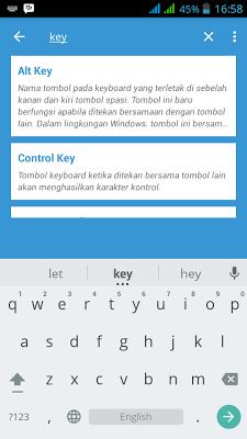 Kamus Istilah Komputer - screenshot